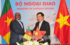 Camerún reafirma disposición de fortalecer lazos multifacéticos con Vietnam