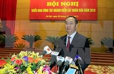 Presidente vietnamita insta a acelerar tratamiento de delitos económicos