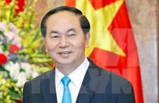 Presidente Dai Quang: 2017 es año especial en historia de diplomacia de Vietnam