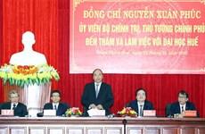 Premier vietnamita pide a Universidad de Hue aumentar autodeterminación