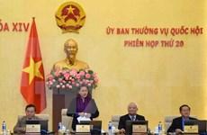 Comité Permanente del Parlamento vietnamita concluye vigésima reunión