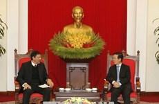 Vietnam y Cuba refuerzan lazos partidistas
