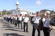 Felicitan a soldados nacionales en archipiélago de Truong Sa en ocasión del Tet