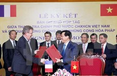 Inspección de Vietnam y Francia robustecen lazos en lucha anticorrupción