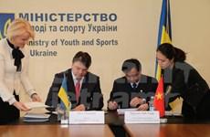 Vietnam y Ucrania promueven cooperación en deportes