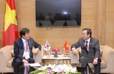 Parlamentos de Vietnam y Sudcorea estrechan vínculos