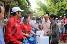 Organizaciones de Cruz Roja de China y de Vietnam buscan agilizar lazos en actividades humanitarias