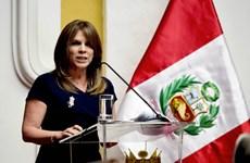 Vietnam felicita a nueva ministra de Relaciones Exteriores de Perú