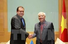 Parlamentos de Vietnam y Estados Federados de Micronesia buscan mejorar cooperación legislativa