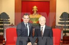 Máximo dirigente partidista de Vietnam aboga por estrechar lazos con México