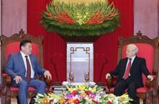 Máximo dirigente partidista de Vietnam aboga por estrechar lazos con Mongolia