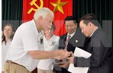 Vietnam reconoce contribuciones a la paz de organización de veteranos estadounidenses