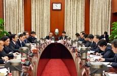 Fortalecen nexos entre Partidos Comunistas de Vietnam y China