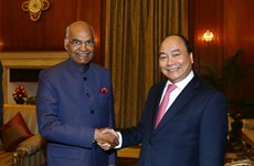 Premier vietnamita se reúne con presidente indio