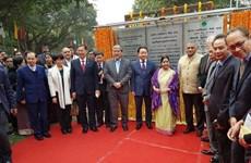 Inauguran en Nueva Delhi Parque de solidaridad India-ASEAN