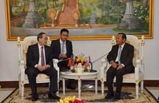 Ciudad Ho Chi Minh fortalece relaciones y cooperación con Camboya
