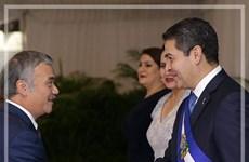 Presidente de Honduras desea impulsar relaciones con Vietnam