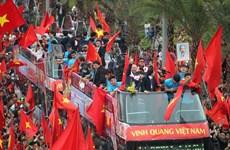 Selección Sub-23 regresa a Vietnam como hérores nacionales