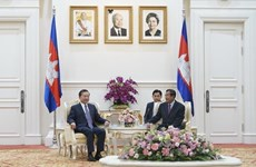 Vietnam y Camboya estrechan cooperación en seguridad