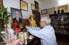 Dirigente partidista vietnamita rinde homenaje a fallecidos con méritos revolucionarios
