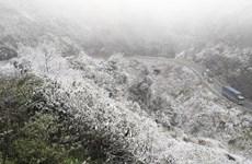 Reportan frío intenso y nieve en el Norte de Vietnam