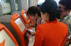 Jetstar Pacific instala quioscos de check-in en aeropuerto