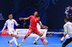 Equipo de fútbol de sala de Vietnam derrotó a Bahréin en campeonato asiático