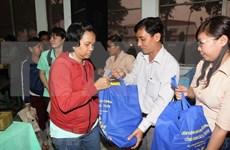 Ciudad Ho Chi Minh entregan regalos a trabajadores menos favorecidos con motivo del Tet