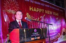 Vietnamitas en oeste de Canadá celebran el Tet