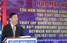 Celebran Día nacional de Australia en Ciudad Ho Chi Minh