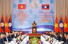 Medios de prensa laosianos destacan logros de 40 Reunión del Comité Intergubernamental con Vietnam