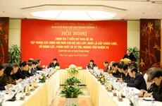 Vietnam busca crear cambios cruciales en la formación del personal del Partido