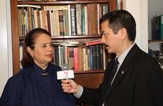 Reconocen a funcionaria cultural argentina por contribuir al conocimiento de Vietnam
