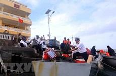 Soldados en archipiélago de Truong Sa celebran Año Nuevo Lunar