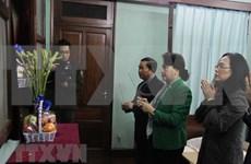 Titular del Parlamento vietnamita rinde homenaje al Presidente Ho Chi Minh