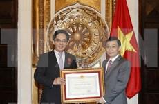 Embajador chino en Vietnam recibe Orden de Amistad
