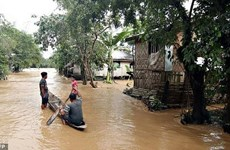 Filipinas: Tormenta Sanba mata a nueve personas