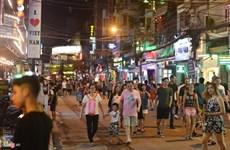 """Bui Vien, """"calle de extranjeros"""" en Ciudad Ho Chi Minh"""