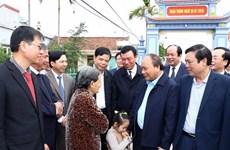Premier vietnamita estimula producción agrícola en Nam Dinh