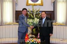 Tailandia reafirma determinación de impulsar lazos con Vietnam en defensa