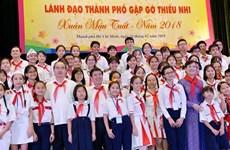 Autoridades de Ciudad Ho Chi Minh prestan atención a pedidas de niños