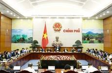 Gobierno vietnamita centra reunión ordinaria en escenario socioeconómico de febrero