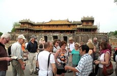 Ciudad Imperial de Hue registra alta llegada de turistas en primeros meses del año