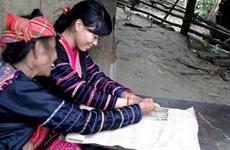Trajes tradicionales de etnia Mong, patrimonio intangible nacional de Vietnam