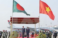 Prensa bangladesí aprecia visita de presidente de Vietnam