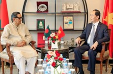 Presidente de Vietnam continúa con agenda apretada en Bangladesh