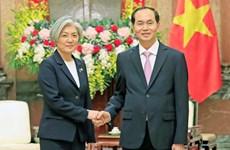 Vietnam aprecia política hacia el Sur de Sudcorea, afirma presidente Dai Quang