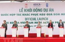 Vietnam y Sudcorea cooperan en remoción de bombas remanentes de guerra