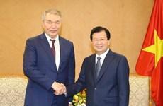Vietnam y Rusia por fortalecer cooperación económica