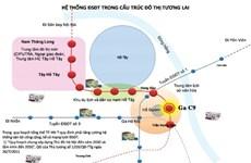 Hanoi recauda opiniones sobre estación subterránea cerca de lago Hoan Kiem